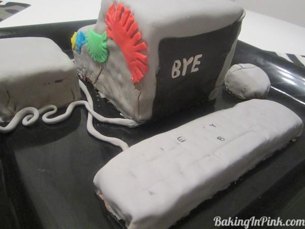 Sweet Goodbye & Chocolate PC Cake