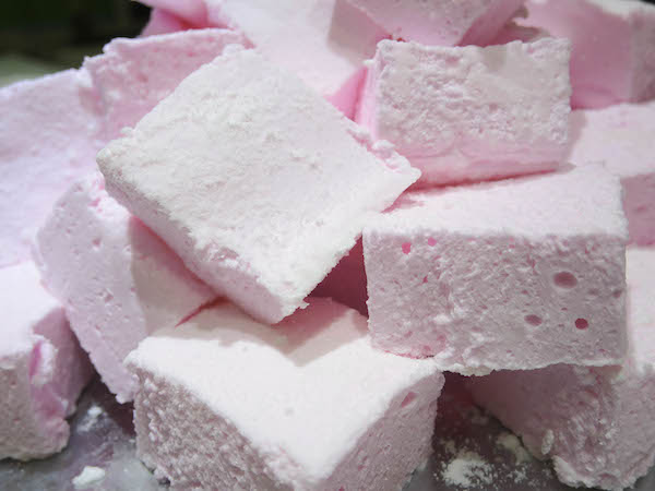 Cherry Flavoured Marshmallows