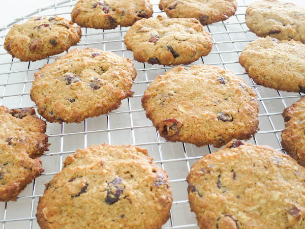 Wholesome Cranberry & Hazelnut Cookies
