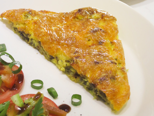 Red Onion & Cheddar Frittata