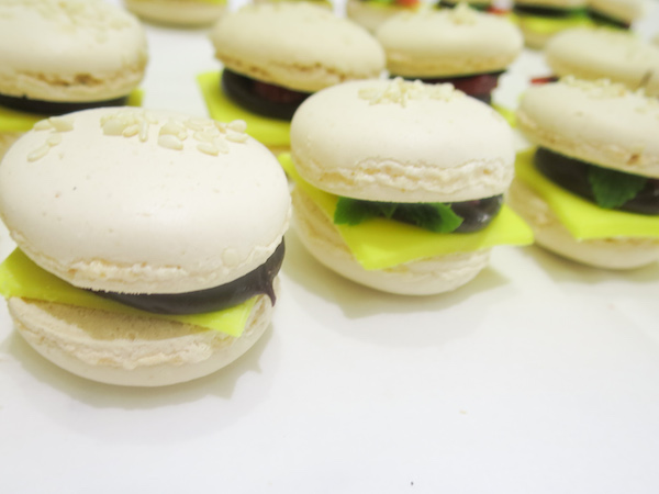 Birthday Burger Macarons