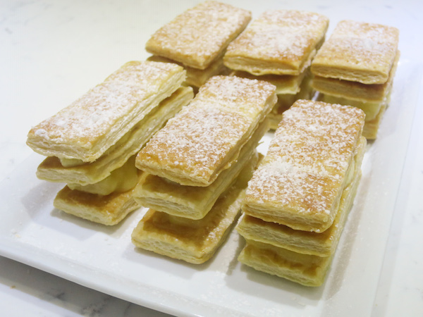 Coconut & Pineapple Mille-Feuilles
