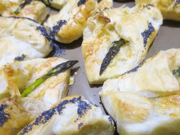 Asparagus & Parmesan Bourekas