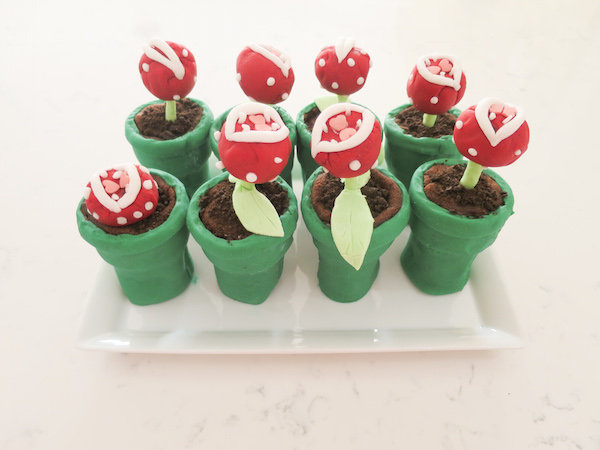 Chocolate Oreo Piranha Plants