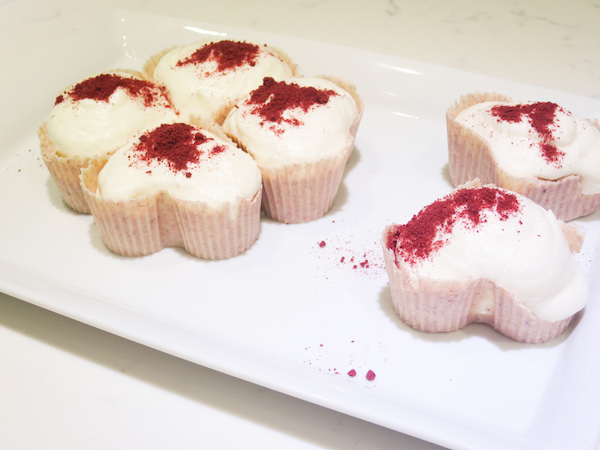 White Chocolate Cranberry Mousse