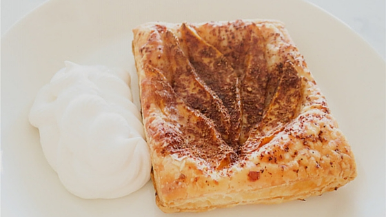 Baked Mango Puff Pastry Squares