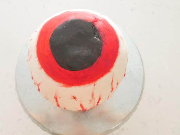 Halloween Zombie Eye Ball Chocolate Candy Cake