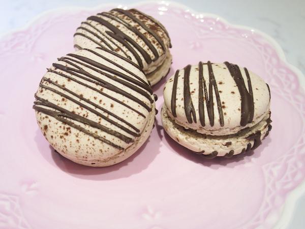 Double Chocolate Macarons