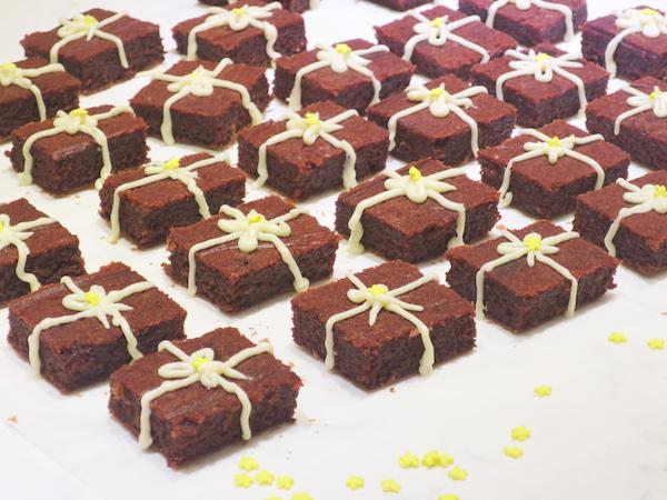 Beet Red Velvet Brownie Gifts