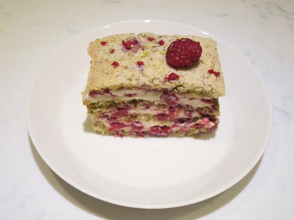 Nut Raspberry Layer Cake