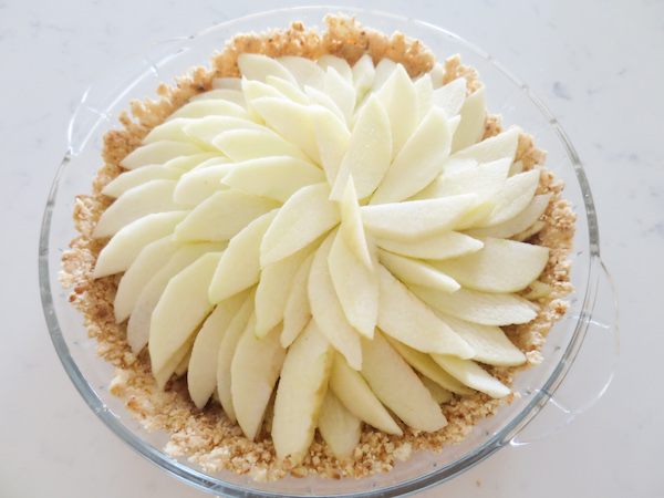 Coconut Crumble Apple Pie