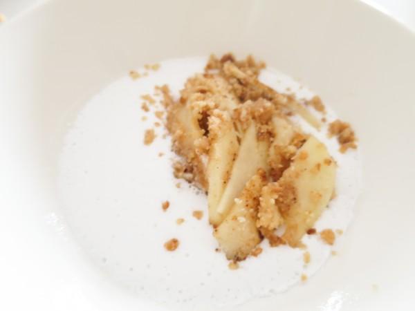 Coconut Crumble Apple Pie