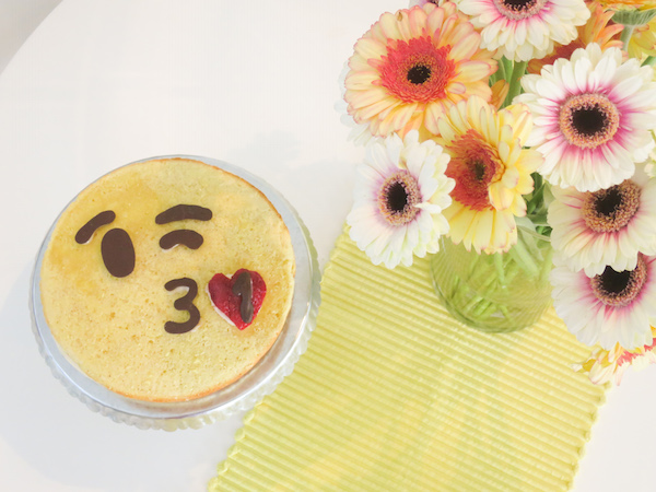 Passion Fruit Emoticon Cake