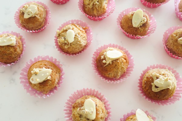 Nutty Mini Tahini Cakes