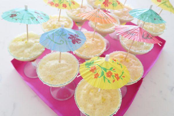 Coconut-Lemon Tapioca Pudding Margaritas