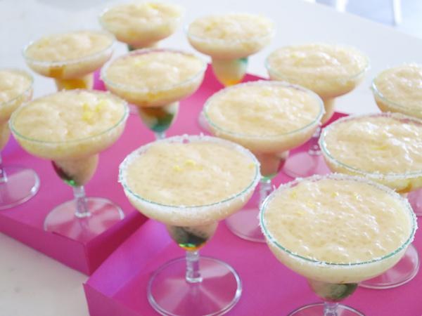 Tapioca Pudding Margaritas
