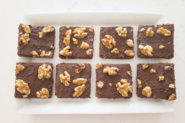 Walnut Chocolate Squares