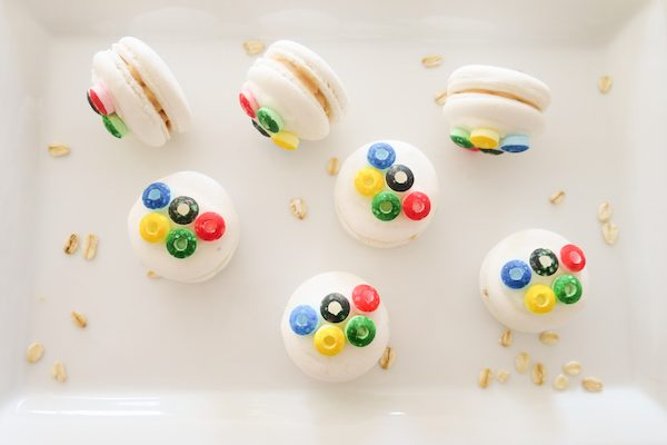 Olympics Inspired Macarons