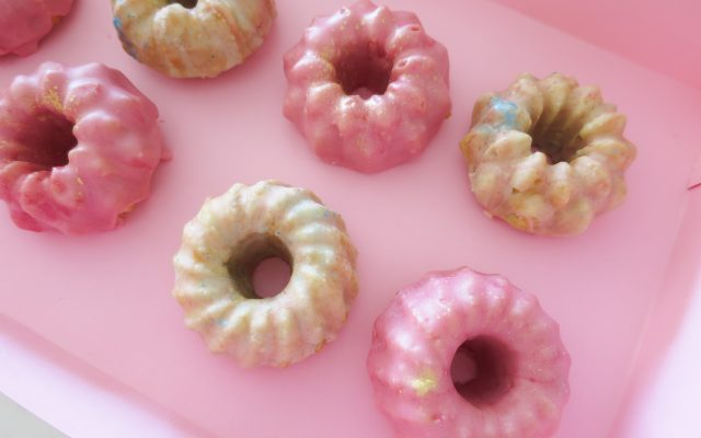Glazed Mini Bundt Cakes