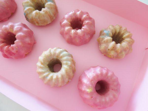 Glazed Mini Bundt Cakes