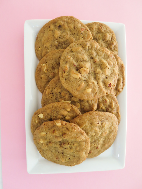 Peanut & Goji Berry Cookies