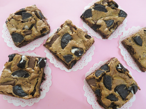 Hershey's Chocolate & Oreo Brownies