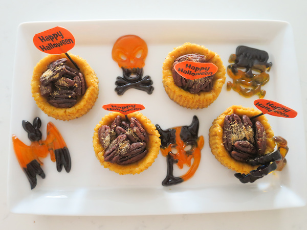 Mini Pumpkin Cheesecakes Halloween