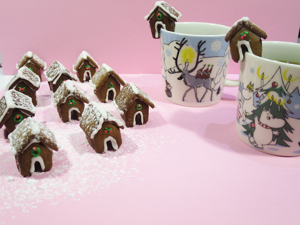 Gingerbread House Mug Toppers