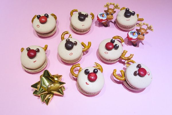 Reindeer Macarons