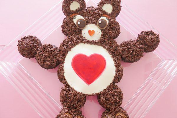 Tenderheart Bear Cupcake Cake