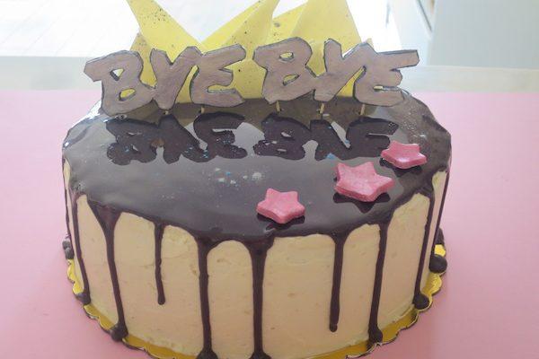 Sweet Goodbyes – Mirror Glaze Drip Double Chocolate Cake