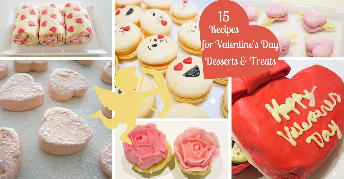 15 Recipes For Valentine S Day Dessert Treats Baking In Pink